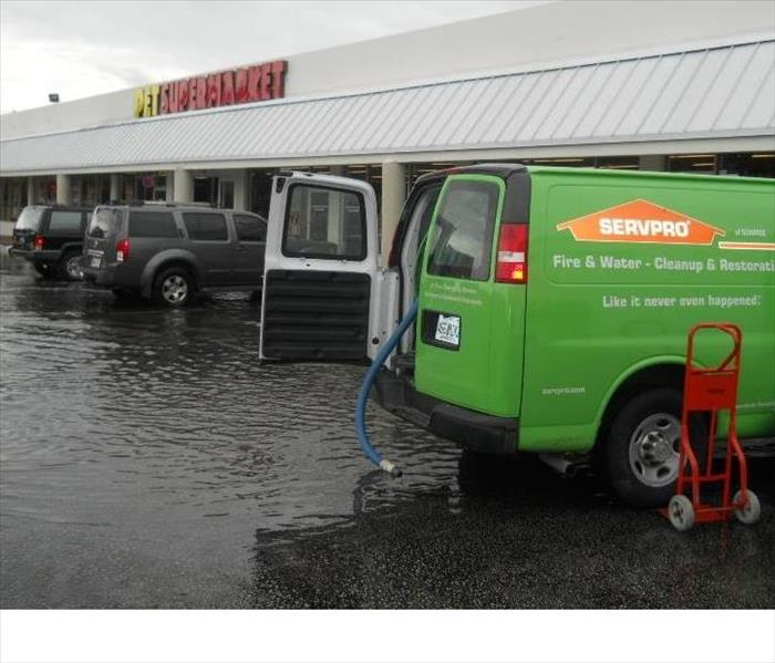 Storm Damage  When Storms or Floods hit Broward County, SERVPRO is ready