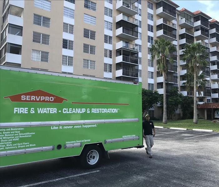 SERVPRO of Sunrise Box Truck