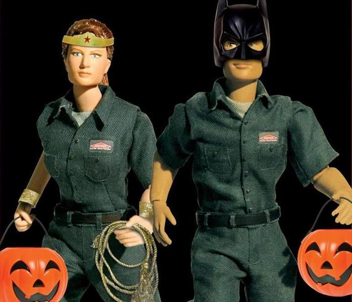 SERVPRO Heroes with Halloween costume